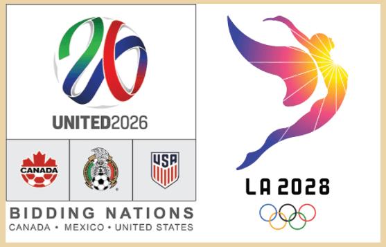 Lịch trình dự án: 2 sự kiện lớn thế giới tổ chức tại Los Angeles